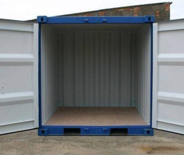 8ft. Lagercontainer