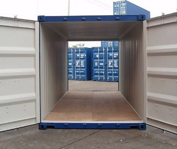 20ft. Double Door Container