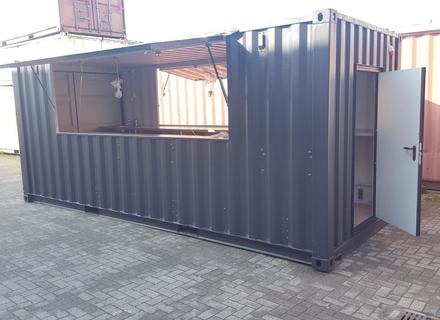 Biercontainer, Stadioncontainer, Eventcontainer