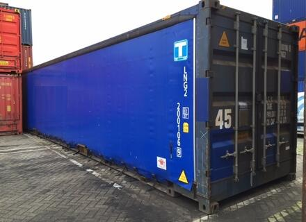 45ft. Highcube Curtain Side, Schiebeplanen beidseitig, palettenbreit
